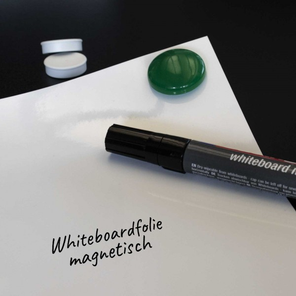 Whiteboardfolie magnethaftend